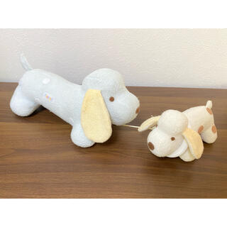 ファミリア(familiar)のfamiliar 犬のぬいぐるみ オルゴール Mドック(ぬいぐるみ/人形)