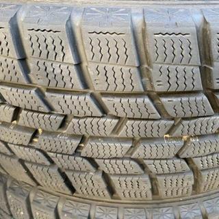 グッドイヤー(Goodyear)のスタッドレス アイスナビ 185/60 15 1シーズン使用 15年製造(タイヤ・ホイールセット)