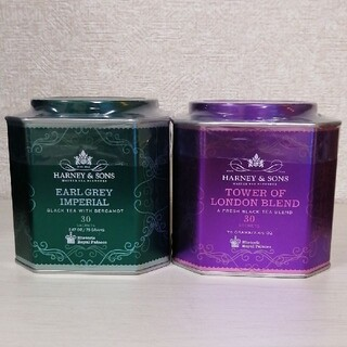 【匿名配送】HARNEY&SONS タワーオブロンドン アールグレイ 2種セット(茶)
