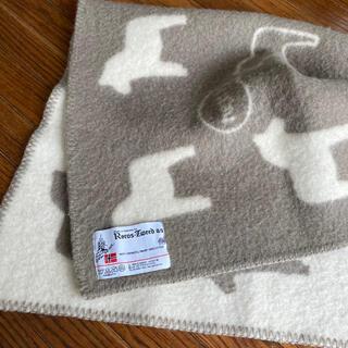 クリッパン(KLIPPAN)のROROS TWEED ロロスツイード ミニ ベイビー ブランケット 膝掛け(毛布)