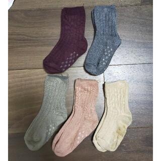 プティマイン(petit main)の韓国子供服 靴下5枚セット(靴下/タイツ)