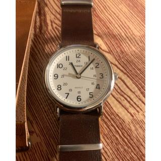 タイメックス(TIMEX)のTIMEX タイメックス 腕時計 替ベルト2本付 中古美品 値下げ(腕時計(アナログ))