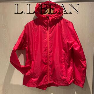 エルエルビーン(L.L.Bean)のL.L.BEAN ナイロンパーカー ピンク(ナイロンジャケット)