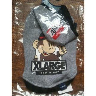 エクストララージ(XLARGE)の犬服キースロゴフーディXLARGE Sサイズ(犬)