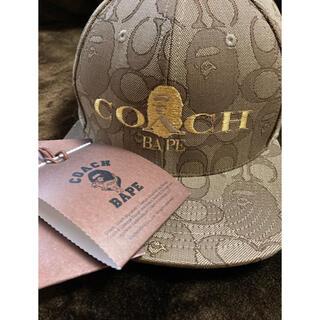 コーチ(COACH)のBAPE® COACH JACQUARD BASEBALL CAP(キャップ)