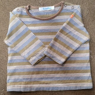 ファミリア(familiar)のfamiliar Tシャツ 70㎝(Tシャツ)