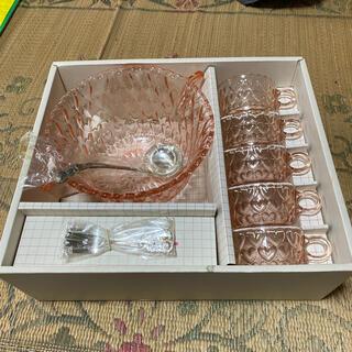 トウヨウササキガラス(東洋佐々木ガラス)のパンチセット TOYO GLASS WARE(グラス/カップ)