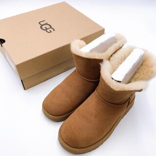 アグ(UGG)のUGG アグ ムートンブーツ ショートブーツ 22cm 美品(ブーツ)