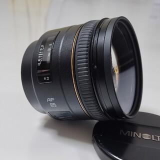 コニカミノルタ(KONICA MINOLTA)の[hiro様専用]MINOLTA AF 85mm F1.4(22) 中望遠(レンズ(単焦点))