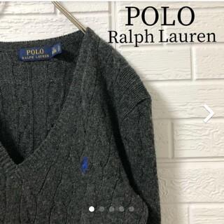 ポロラルフローレン(POLO RALPH LAUREN)のポロ ラルフ ローレン カシミヤ 混合 ニット セーター(ニット/セーター)