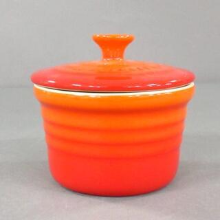 ルクルーゼ(LE CREUSET)のルクルーゼ 食器新品同様  - レッド 陶器(その他)
