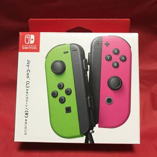 ニンテンドースイッチ(Nintendo Switch)のスイッチ JOY-CON (L)/(R) ネオングリーン/ネオンピンク(家庭用ゲーム機本体)