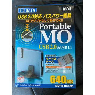 アイオーデータ(IODATA)のIO・DATA ポータブルMOドライブ MOP2-U640P 未使用 3(PC周辺機器)