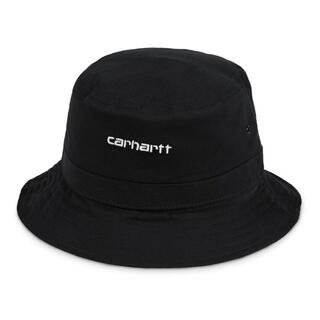 carhartt - CARHARTT SCRIPT BUCKET HAT BLACK S/M