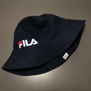 フィラ(FILA)のFILA バケットハット navy(キャップ)