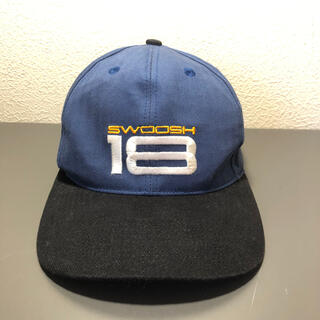 ナイキ(NIKE)の'90s NIKE 白タグ バイカラー cap (キャップ)
