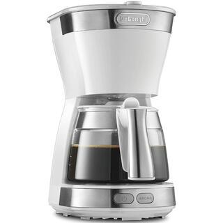 デロンギ(DeLonghi)のデロンギ ドリップコーヒーメーカー ホワイト アクティブシリーズ [5杯用](コーヒーメーカー)