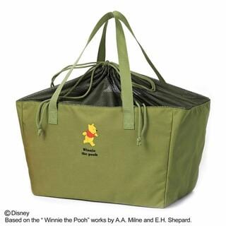 クマノプーサン(くまのプーさん)のくまのプーさん レジかごお買い物バッグ(エコバッグ)