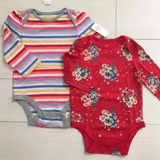 ベビーギャップ(babyGAP)のbabygap 80 ロンパース ボディシャツ(ロンパース)