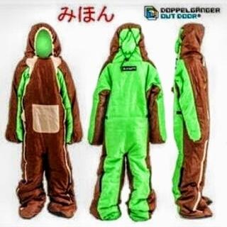 ドッペルギャンガー(DOPPELGANGER)の人型 スリーピングバッグ【新品未使用】(寝袋/寝具)