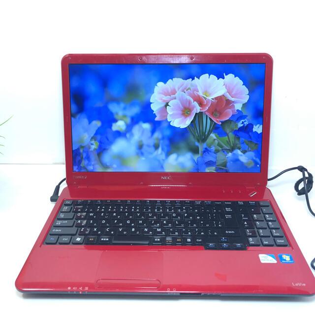 NEC(エヌイーシー)の訳あり格安 NEC LS150E ノートパソコン 本体 スマホ/家電/カメラのPC/タブレット(ノートPC)の商品写真