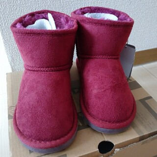 エフオーキッズ(F.O.KIDS)の新品☆ ムートンブーツ 20cm(ブーツ)