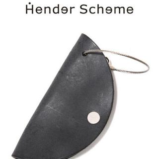 エンダースキーマ(Hender Scheme)のHender Schemeエンダースキーマ circle ブラック新品未使用(キーケース)
