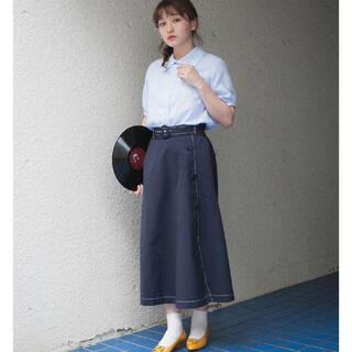 メリージェニー(merry jenny)の色恋沙汰のフレアスカート*LEBECCA boutique(ロングスカート)