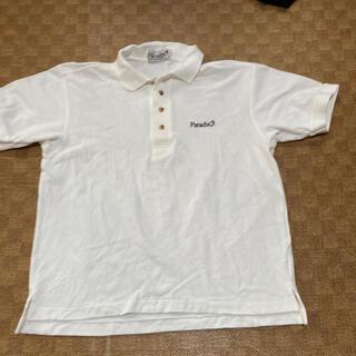 Paradiso - 美品!白・パラディーゾ ゴルフポロシャツ Mサイズ