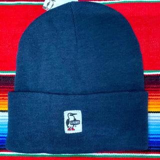 チャムス(CHUMS)の新品 CHUMS Knit Cap チャムス ニットキャップ ネイビー(ニット帽/ビーニー)