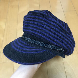 アナスイ(ANNA SUI)のアナスイ キャスケット 帽子 キャップ ニット帽(キャスケット)