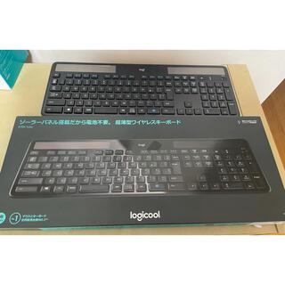 【ジャンク品】ロジクール ワイヤレス ソーラーキーボード K750r(PC周辺機器)