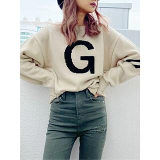 ジェイダ(GYDA)の【GYDA】 G SLEEVELINE ニット TOPS(ニット/セーター)