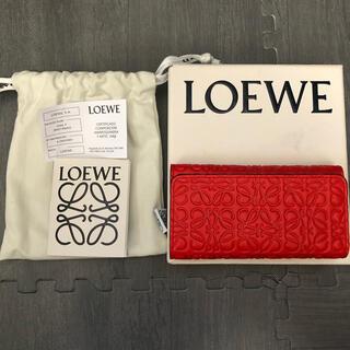 ロエベ(LOEWE)のロエベ キーケース LOEWE 6連 アナグラム プライマリーレッド(キーケース)