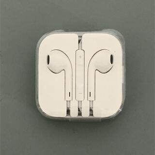 アップル(Apple)の【新品未使用】Apple 純正 イヤホン(イヤホンジャックタイプ)(ヘッドフォン/イヤフォン)