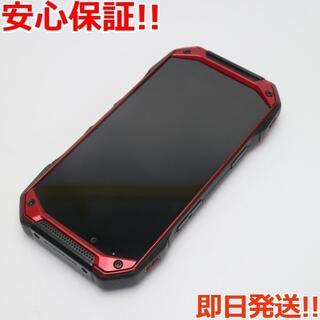 キョウセラ(京セラ)の美品 KYV46 TORQUE G04 レッド (スマートフォン本体)