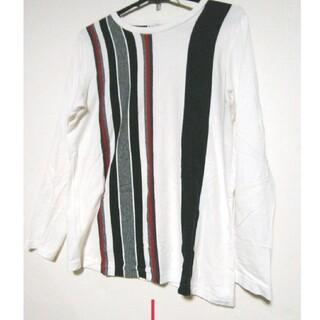 送料無料 完売品 ストライプシャツ TK(Tシャツ/カットソー(半袖/袖なし))