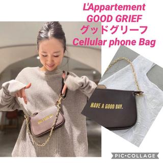 アパルトモンドゥーズィエムクラス(L'Appartement DEUXIEME CLASSE)の新品【GOOD GRIEF/グッドグリーフ】Cellular phone Bag(ポーチ)