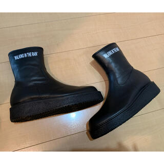 KIDS LOVE GAITE - レインブーツ Rubber Side Zip Boots