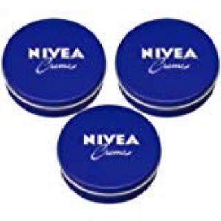 ニベア(ニベア)の新品 送料無料 ニベア クリーム たっぷり使える 大缶 169g 3缶セット(フェイスクリーム)