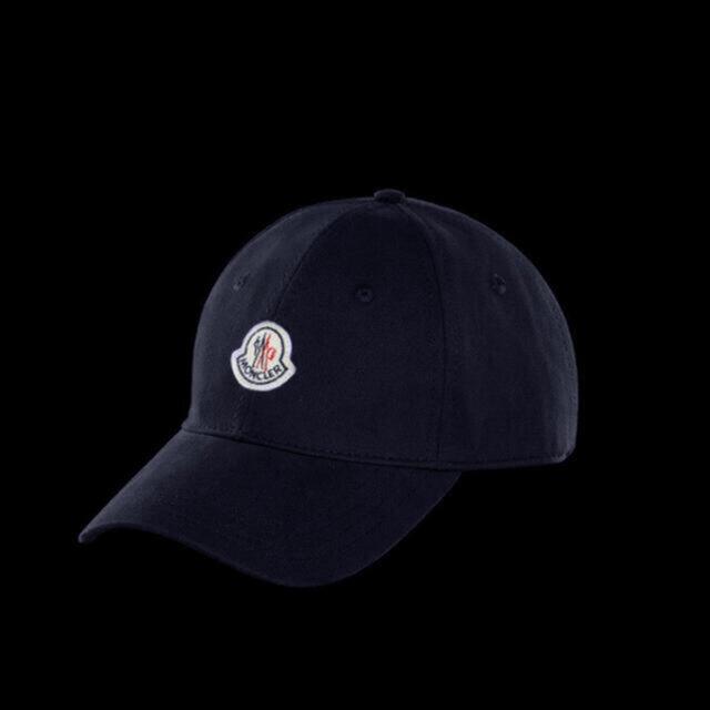 MONCLER(モンクレール)の【新品】moncler モンクレール  ベースボールキャップ Navy メンズの帽子(キャップ)の商品写真