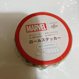 マーベル(MARVEL)のMARVEL マーベルヒーロー マステ  シール(テープ/マスキングテープ)