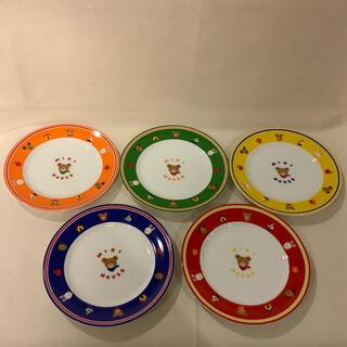 ミキハウス(mikihouse)の【未使用】MIKI HOUSE ミキハウス 皿 5枚セット (食器)