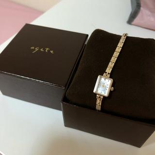 アガット(agete)のスクエアフェイスジュエリーウォッチAGETE15YG2時計】 ¥72,600税込(腕時計)