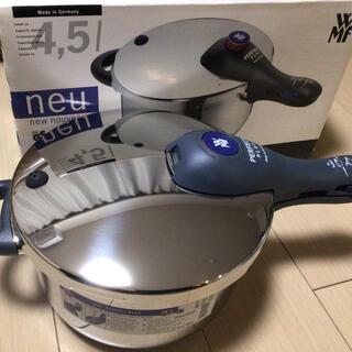 ヴェーエムエフ(WMF)のWMF 圧力鍋 パーフェクトプラス 4.5L 新品未使用(調理道具/製菓道具)