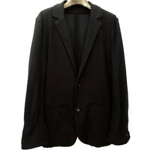 コムサイズム(COMME CA ISM)のコムサ 紺色 ジャケット LLサイズ(ノーカラージャケット)