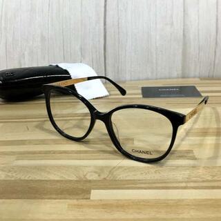 シャネル(CHANEL)のシャネル メガネ 黒フレーム 5448(サングラス/メガネ)