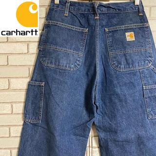 カーハート(carhartt)の90s 古着 カーハート メキシコ製 デニム ペインターパンツ(ペインターパンツ)