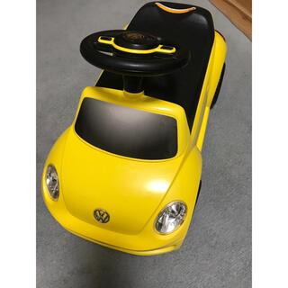 フォルクスワーゲン(Volkswagen)の足漕ぎ車 ワーゲン ビートル 手押し車(手押し車/カタカタ)