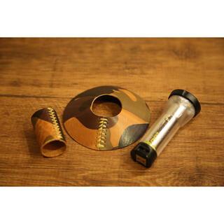ゴールゼロ(GOAL ZERO)のゴールゼロ用 シェード&カバー カモフラージュ高級イタリアンレザー使用(ライト/ランタン)